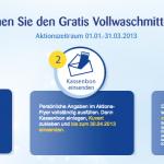 Gratis: Lenor Vollwaschmittel im Wert von 5-7€