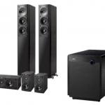 Jamo S 606 HCS 3 + Sub 260 Wenge Lautsprechersystem für 555€ inkl. Versand