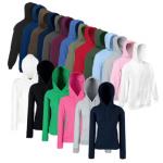 eBay WOW: Damen, Herren und Kinder Hoodies von Fruit of the Loom in 21 Farben für je 11,99€ inkl. Versand