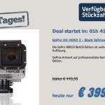 GoPro HD HERO 3 – Black Edition – nur 15 Stück! – für 369€