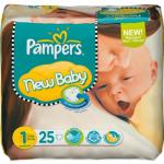 Pampers New Baby Gr. 1 Newborn (2-5 kg) 25 Stück für 1€ zzgl. Versand