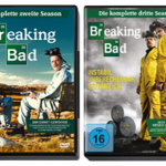 Amazon: Breaking Bad Staffel 1 bis 4 (DVD) für je 9,99€
