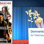 o2 Kinotag: Ein Ticket kaufen, das Zweite zahlt o2 (nur für o2 Kunden)