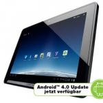 Medion Lifetab P9514 mit 10″ Display für 260,95€