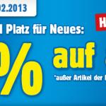 20% Rabatt auf (fast) Alles im Praktiker Online Shop bis 3.2.2013
