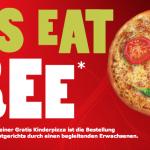 Pizza Hut: Gratis Kinder Pizza, wenn Erwachsene Essen kaufen