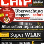 CHIP mit DVD (6 Ausgaben) für 34,80€ + 30€ TankBON oder ShoppingBON