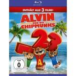 Blu-Ray: Alvin und die Chipmunks – Teil 1-3 für 16,37€ inkl. Versand