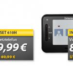 Wochenend-Angebot bei MeinPaket (Gigaset C610H, Intenso Viddy Video Messenger, 8 AAA Akkus)