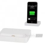 USB Dockingstation für iPhone 5 in Weiß für 5,29€ inkl. Versand