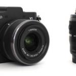 eBay: Nikon 1 V1 DoubleZoom-KIT (Schwarz, VR 10-30mm, 30-110mm) für 389€ inkl. Versand