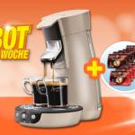 Philips HD 7828/10 Senseo Viva Cafe + 160 Kaffeepads für 77€