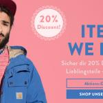 Frontlineshop: 20% Gutschein für nicht reduzierte Ware (bis Sonntag gültig)