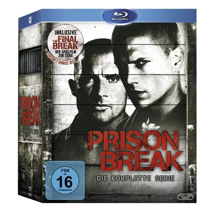 Prison Break auf Blu-ray