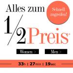 50% Sale auf das gesamte Sortiment bei Dress-for-Less + 10€ Newsletter-Gutschein