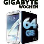 Gratis 64GB Speicherkarte für Samsung Galaxy Modelle (Kaufzeitraum 1.2.2013 bis 31.3.2013)