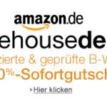 10% Extra-Rabatt auf Amazon Warehousedeals ab Montag den 4. März 2013