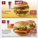 McDonalds Gutscheine für März 2013 mit tollen Angeboten