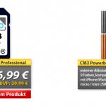 Heutige Angebote von MeinPaket: 32GB Speicherkarte und Powerbank Akkutank