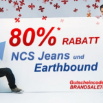 80% Rabatt auf NCS Jeans und Earthbound dank Gutscheincode – nur heute!