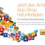 Amazon: Verschiedene Android Apps für nur 0,99€ + 1€ MP3 Gutschein bei jedem Kauf
