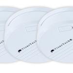 eBay: 3er Set Pearl Rauchmelder für 14,90€ inkl. Versand
