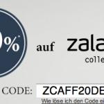 20% Rabatt auf die hauseigene Zalando Collection dank Gutschein