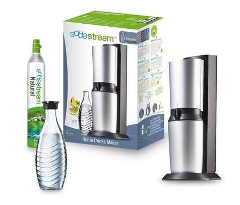 sodastream crystal titan silber f r 79 inkl versand sparen im oktober 2018. Black Bedroom Furniture Sets. Home Design Ideas