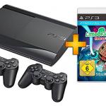 Sony Playstation 3 12GB mit 2 Dualshock3 Controllern und Little Big Planet 2 Spiel für 199€
