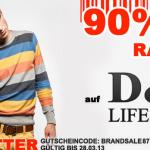 90% Rabatt auf Klamotten der Marke D&A Lifestyle bei Hoodboyz