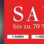 70% Rabatt auf Kleidung bei der Trendfabrik + 10€ Gutschein (70€ MBW)