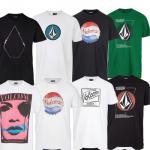 eBay: Verschiedene T-Shirts von VANS, VOLCOM und Sir Benni Miles für je 13,95€ inkl. Versand