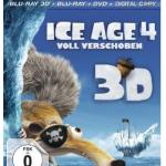 Amazon: Ice Age 4 – Voll verschoben (+ Blu-ray + DVD + Digital Copy) für 18,97€ inkl. Versand
