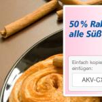 50% Rabatt auf Süßwaren und Genussmittel im Real Online-Shop
