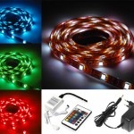 eBay: LED Leiste (RGB, 5 Meter, mit Fernbedienung und Netzteil) für 24,99€ inkl. Versand