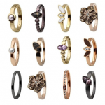 eBay: Skagen Damen Ringe in verschiedene Modelle (Gold, Silber, Bronze, Schwarz) für je 9,99€ inkl. Versand