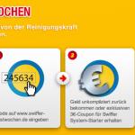 """Swiffer Testwochen: Swiffer Staubmagnet in wenigen Schritten gratis """"abgestaubt"""""""