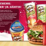 Gratis Whopper Jr. von Burger King bei Kauf einer Pringles Dose