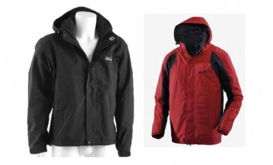 eBay: Jack Wolfskin Cold Mountain Damen und Herrenjacke für