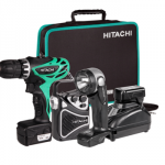 Hitachi 10,8V Akkubohrschrauber-Set KC10DHL für 99€ inkl. Versand