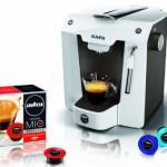 Espressomaschine AEG Favola LM 5100 mit 80 Lavazza-Kapseln 39€