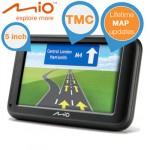 Mio Moov M616 LM Navigationssystem mit lebenslangen Kartenupdates für 105,90€ inkl. Versand