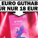 Nur heute: 25€ iTunes-Guthaben für lediglich 18€ im Media Markt Deutschlandweit