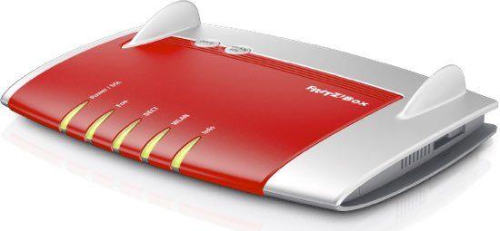 Fritzbox dsl router modem angebot günstig