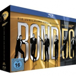 James Bond – Bond 50: Die Jubiläums-Collection auf Blu-ray für 111€ inkl. Versand