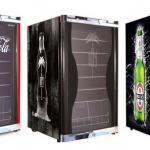 Husky Highcube Getränkekühlschrank mit Logos für 282€ inkl. Versand