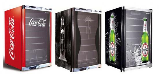 Husky Highcube Getränkekühlschrank mit Logos für 282€ inkl. Versand ...