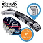 Wilkinson Sword Quattro Titanium Precision 3in1 Rasierer inkl. 17 Klingen für 35,90€ inkl. Versand