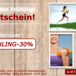 30% Frühlings-Gutschein für SP24 Online Shop