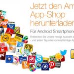 Amazon App-Shop mit täglichen Gratis-Apps zum Download